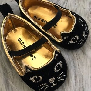 """""""Cat"""" baby shoes"""